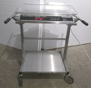Welch Allyn Scale tronix 4800 Pediatric Infant Baby Stainless Scale Cart Lb Kg