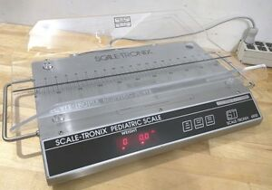 Welch Allyn Scale tronix 4800 Pediatric Infant Baby Stainless Scale Lbs
