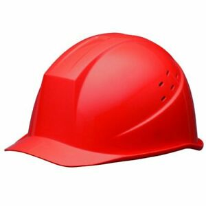 Midori Anzen Safety Hard Hat For Construction Helmet Red From Japan