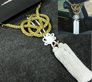 Vip Style Charm Junction Produce Fusa White Kiku Jp Knot Gold Kin Tsuna Rope