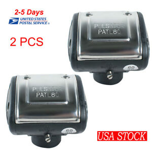2x L80 Pneumatic Pulsator For Cattle Cow Milker Milking Machine Dairy Farm Fast