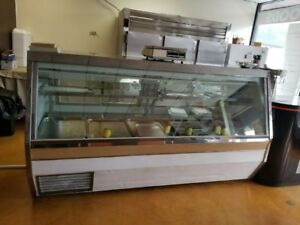 Meat Display Case 8 Foot New Condenser Tecumseh