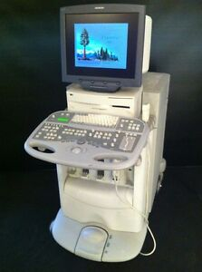 Acuson Ultrasound System Sequoia 512 Flat Monitor Excellent Condition