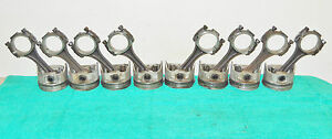 1970 1971 1972 73 Ford Mustang Mach1 Torino Cougar 351c Std Pistons Conn Rods