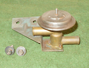 1967 1968 Mustang Gt A Shelby Cougar Xr7 Orig A c Heater Hot Water Control Valve