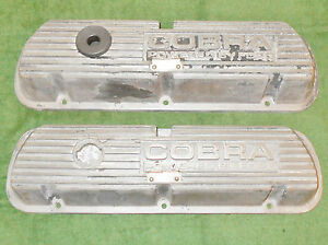 1966 1967 1968 1969 70 Shelby Mustang Gt350 Orig 289 302 351w Cobra Valve Covers