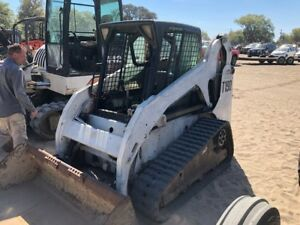 2005 Bobcat T190 Tracked Skid Steer Loader W Cab Coming In Soon