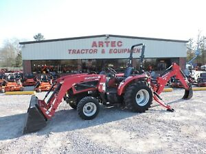 2015 Mahindra 3535 Tractor With Loader Backhoe Deere Kubota Warranty