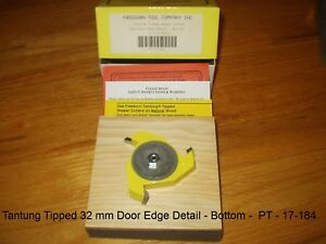 Freeborn Pro line Wood Shaper Cutter Pt 17 184 Tantung Tipped New