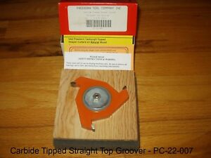 Freeborn Pro line Wood Shaper Cutters Pc 22 007 Carbide Tipped New