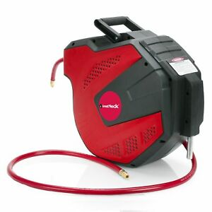 Great Neck Greatneck 80180 Wall Mount Retractable Air Hose Reel 3 8 X 50