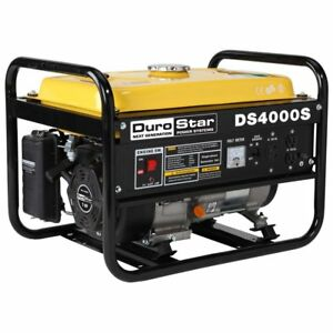 Durostar 4000 w 7 Hp Portable Gas Powered Generator Home Rv Camping Tailgating