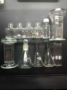 Vintage Pyrex Glass Laboratory Lab Science Kimax Wheaton Made In The Usa