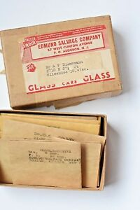 Vintage Lot Of 18 Optical Prisms And Lenses Edmund Scientific Salvage