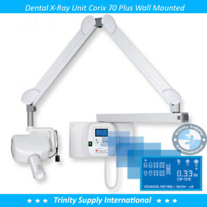 Corix 70 Plus Dental X ray Wall Mounted Unit For Sensor Psp Film Powerful