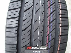 2 New 255 45zr18 Inch Nankang Ns 25 All Season Uhp Tires 45 18 R18 2554518