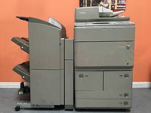 Canon Imagerunner Ira 8285 85ppm Multifunction Printer Copier Scan Finisher 8295