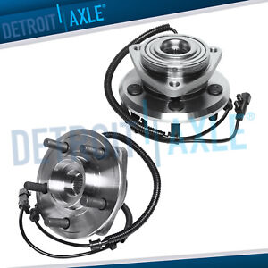 2 Front Wheel Bearing Hubs For 2007 2008 2009 2010 2011 Dodge Nitro W Abs