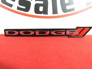 Dodge Charger Grille Grill Emblem Badge Nameplate New Oem Mopar