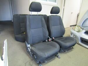 Jdm 2003 2008 Subaru Forester Sti Sg5 Sg9 Front And Back Oem Seats