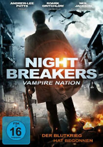 Nightbreakers - Vampire Nation NEW PAL Cult DVD Todor Chapkanov Andrew Lee Potts