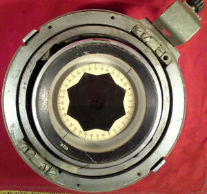 Maritime Military Compass Nautical Marine Antique Ship Boat Soviet Ussr Russian