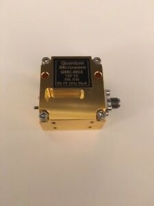 Wr 15 50 To 75 Ghz Millimeter Wave Waveguide Active Multiplier V band