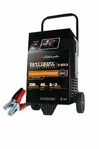 Car Auto Battery Charger Heavy Duty Booster Jump Starter 200 Amp 6 12v Power Led