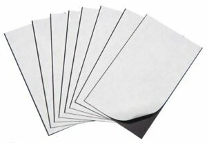 Marietta Magnetics 25 Magnetic Sheets Of 8 5 X 11 Adhesive 20 Mil