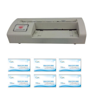 Business Card Slitter Cutter 90 54mm Letter Size Paper With Template New