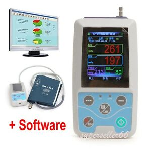 Genuine Ambulatory Blood Pressure Monitor Instant 24h Bp Measurement Holter Ecg