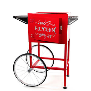 Paramount Popcorn Machine Cart Trolley Section red