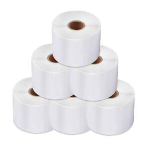 20 Rolls 300 Labels Per Roll Dymo compatible 30256 White Shipping Labels