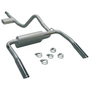 Flowmaster Single 2 5 At Series Cat back Exhaust For Camaro firebird 3 8l1998 02