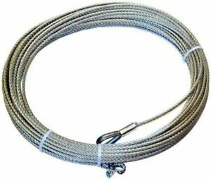 Warn 38311 Wire Rope For M8274 50 Winch 5 16 In X 150 Ft