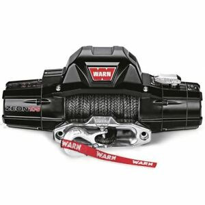 Warn 89611 Zeon 10 S Truck Synthetic Winch Spydura Rope Lifetime Warranty