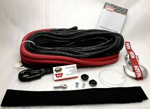 Warn 87915 Spydura Synthetic Rope 3 8 x100 For Winches Up To 12 000 Lbs