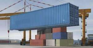 Trumpeter 1 35 40ft Shipping storage Container 1030 9580208010304