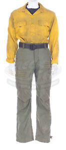 Michael Mcnulty Only The Brave Wildland Firefighter Crew Boss Nomex Pants Shirt