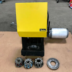 Parker Hydraulic Hose Crimper W Lot Of Fittings And Hose Package Start Up Kit