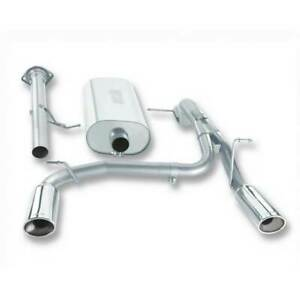 Borla Dual 3 Ss Cat back Exhaust For Hummer H2 Suv sut 6 0 6 2l 2007 2008