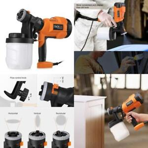 Electric Airless Paint Sprayer Gun Sprayer W Three Spray Patterns Painting Tool