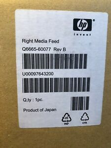 New Hp Designjet 9000s 10000s seiko 64s 100s Right Media Feed Q6665 60077