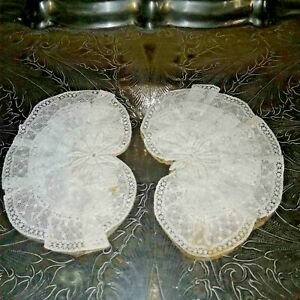 Vintage Lace Collar Cuff Attachment Crochet Doilies Sewing Crafting