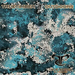 Rift 50 True Timber Camo Hydrographic Water Transfer Film Hydro Dipping Dip Ape