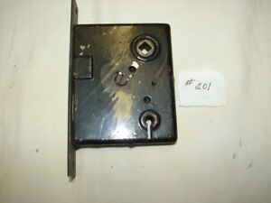 Old Mortise Door Lock 201 See Photos