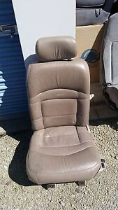 Ford Explorer Limited Driver Seat Light Brown Tan Leather Nice