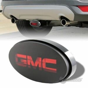 Bully Hitch Cover 2 1 25 Rear Trailer Towing Receiver Brake Lights For Gmc