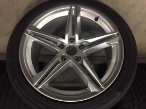 Audi S5 Wheel And Tire Set