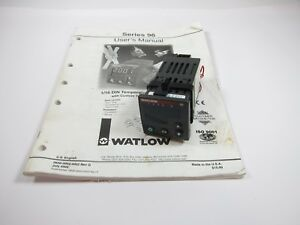Watlow 96 Temperature Controller 96a0 kdaa 00rr 100 240v 0 5a Solid State Relay